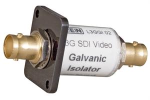 Bild von HD-SDI /3G-SDI Galvanische Trenneinheit (für Panel-Einbau)