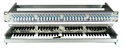 Bild von ASF 1x32 AV 3/1 SA G  Blueline Standard Connecting Patch Panel
