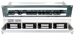 Bild von DSF 1x16 AV 6/2 D25S  Data Connecting Patch Panel RS422, RS232