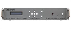 Bild von EXT-UHD600A-88 Gefen 4K UltraHD 600MHz 8x8 Matrix w/HDR