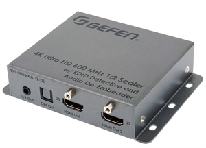 Bild von EXT-UHD600A-12-DS 4K UHD 600MHz Up/Downscaler / 1:2 Splitter