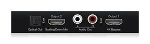 Bild von HD12DB 4K Dolby Down-Mixer mit HDMI Scaler